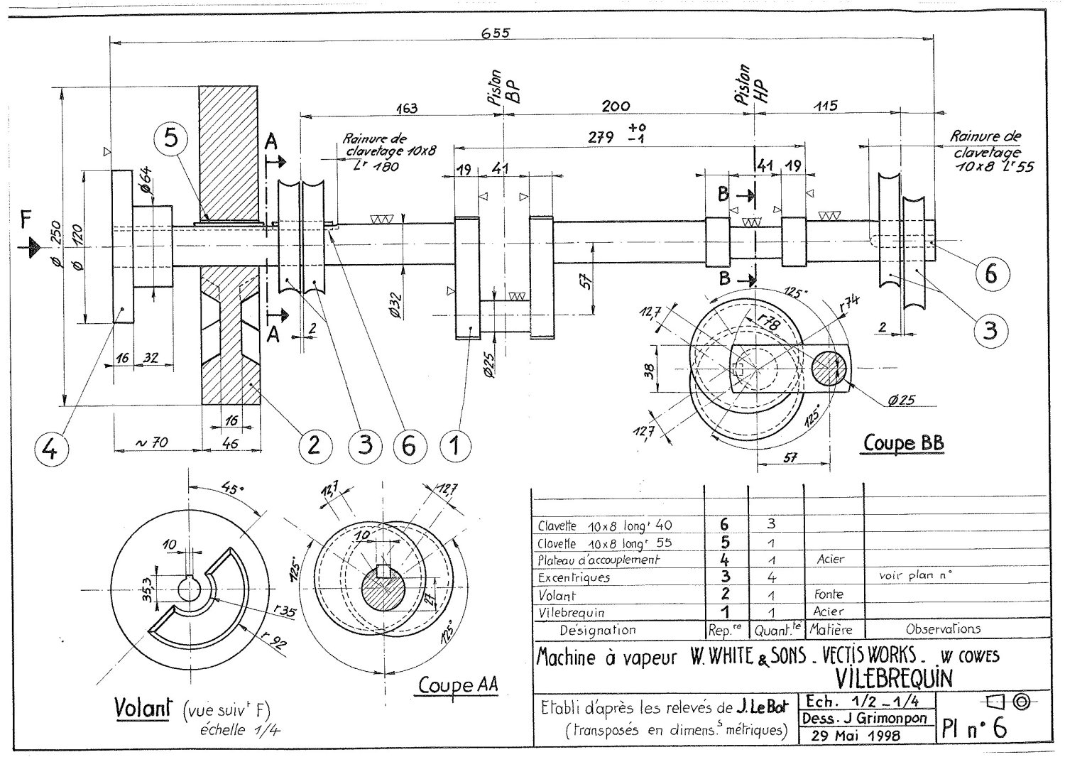pinball parts diagram